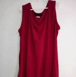 American city wear T shirt red size s